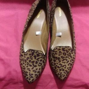 Merona Cheetah Print Flats